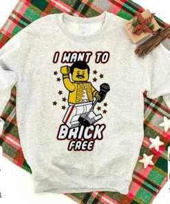 Freddie Mercury I want to brick free LEGO shirt 1 1 247x296 - Freddie Mercury I want to brick free LEGO shirt