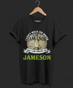 I can t walk on water but i can stagger on Jameson Irish Whiskey shirt 1 1 247x296 - I can't walk on water but i can stagger on Jameson Irish Whiskey shirt