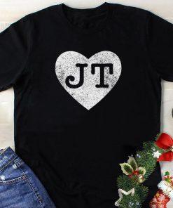 I love JT heart funny JT vintage shirt 1 1 247x296 - I love JT heart funny JT vintage shirt