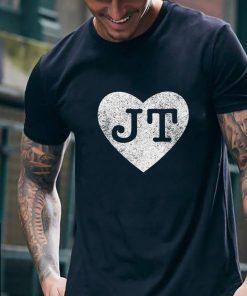 I love JT heart funny JT vintage shirt 2 1 247x296 - I love JT heart funny JT vintage shirt