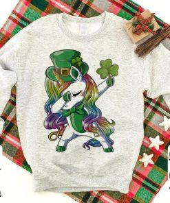 LGBT Dabbing unicorn St Patrick s day shirt 1 1 247x296 - LGBT Dabbing unicorn St. Patrick's day shirt