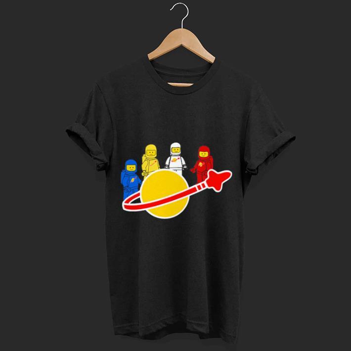 Spaceman Lego worlds shirt