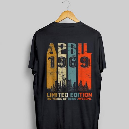 1969 limited edition 50 years of being awesome shirt 1 1 510x510 - 1969 limited edition 50 years of being awesome shirt