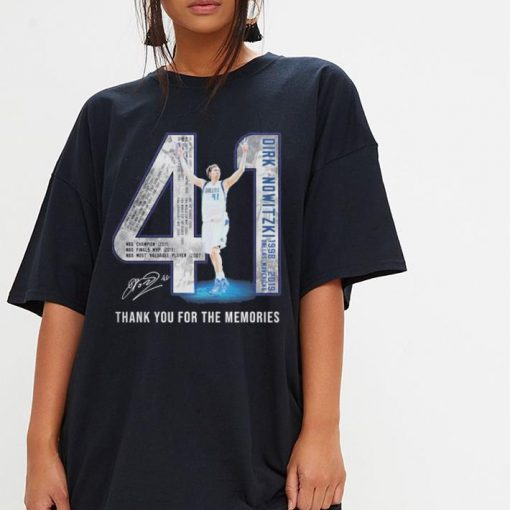 41 Dirk Nowitzki Jerseys signature thank you for the memories shirt 3 1 510x510 - 41 Dirk Nowitzki Jerseys signature thank you for the memories shirt