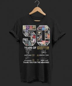 50 years of Ledzeppelin signatures thank you for the memories shirt 1 1 247x296 - 50 years of Ledzeppelin signatures thank you for the memories shirt