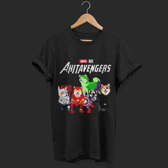 Akita Akitavengers Marvel Avengers Endgame shirt