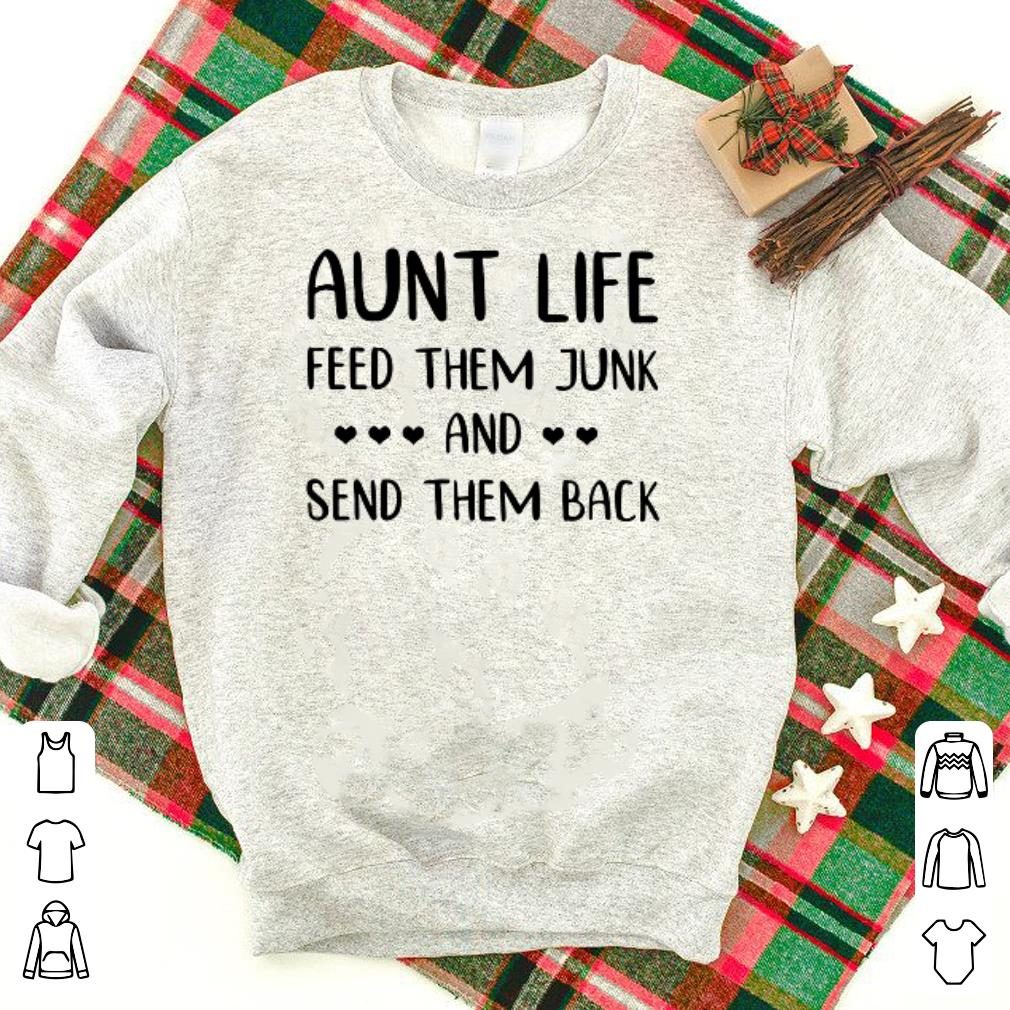 Aunt life feed them junk and send them back