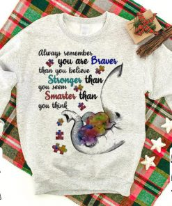 Elephant Always remember you are braver than you believe strongs Autism shirt 1 1 247x296 - Elephant Always remember you are braver than you believe strongs Autism shirt