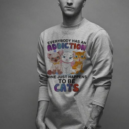Everybody has an addiction mine just happens to be cats shirt 2 1 510x510 - Everybody has an addiction mine just happens to be cats shirt