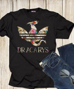 86dfeb1817 Funny Flowers Dracarys Adidas Game Of Thrones shirt. $28.00 $22.99. Sale!  GOT Dragons Dracarys shirt 1 1 247x296 - GOT Dragons Dracarys shirt ...