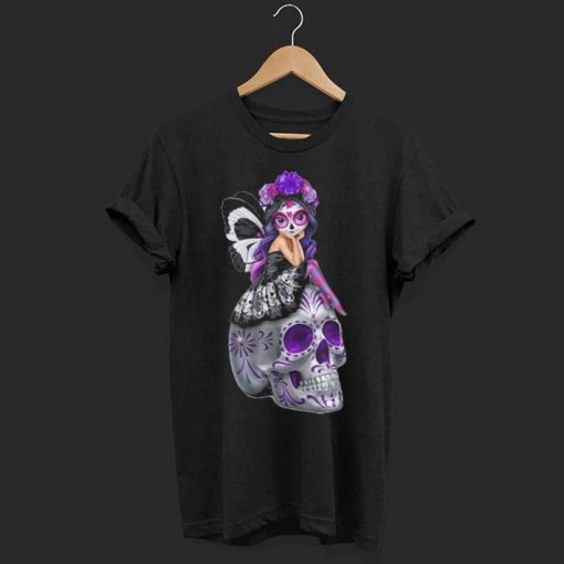 Girl Butterfly Skulls shirt 1 1 510x510 - Girl Butterfly Skulls shirt