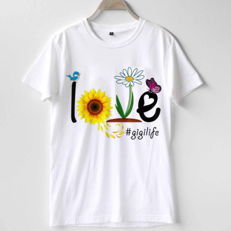Grandma Love Gigi life Heart Floral Mothers Day shirt