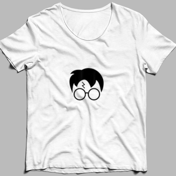 Harry Pawter Cute Glasses Potter Scar shirt