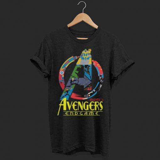 Marvel Avengers Endgame logo full colors shirt 1 1 510x510 - Marvel Avengers Endgame logo full colors shirt