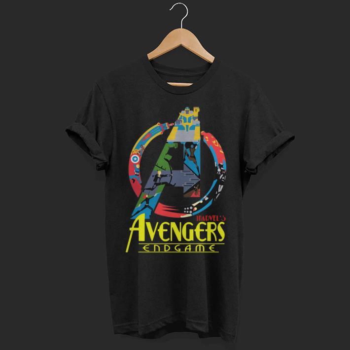 Marvel Avengers Endgame logo full colors shirt