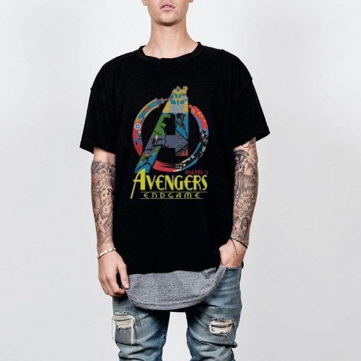 Marvel Avengers Endgame logo full colors shirt 2 1 510x510 - Marvel Avengers Endgame logo full colors shirt