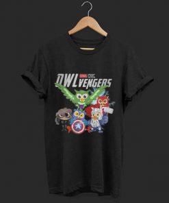 Marvel Owlvengers Avengers Endgame Owl shirt 1 1 247x296 - Marvel Owlvengers Avengers Endgame Owl shirt