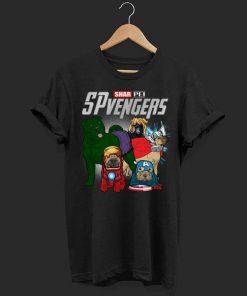 Marvel SPvengers Avengers Endgame Shar Pei shirt 1 1 247x296 - Marvel SPvengers Avengers Endgame Shar Pei shirt