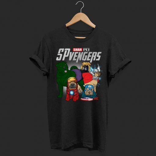 Marvel SPvengers Avengers Endgame Shar Pei shirt 1 1 510x510 - Marvel SPvengers Avengers Endgame Shar Pei shirt