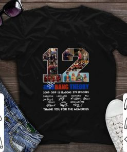 12 the Big Bang Theory signatures thank you for the memories shirt 1 1 247x296 - 12 the Big Bang Theory signatures thank you for the memories shirt