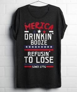 America Drinking Booze Refusing To Lose Since 1776 shirt 1 1 247x296 - America Drinking Booze & Refusing To Lose Since 1776 shirt