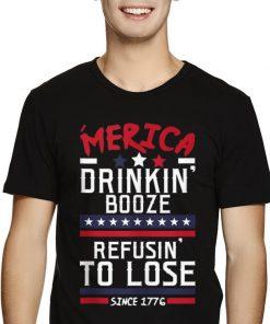 America Drinking Booze Refusing To Lose Since 1776 shirt 2 1 247x296 - America Drinking Booze & Refusing To Lose Since 1776 shirt