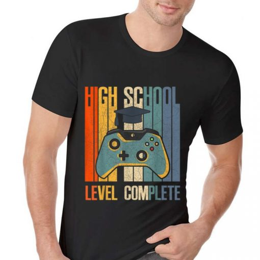 Awesome 2019 High School Graduation Level Complete shirt 2 1 510x510 - Awesome 2019 High School Graduation Level Complete shirt