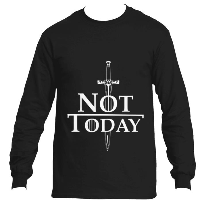 Awesome Arya Stark Not Today Game Of Thrones shirt