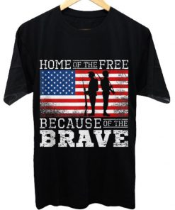 Awesome Home of the Free Because of the Brave Military American Flag shirt 1 1 247x296 - Awesome Home of the Free Because of the Brave Military American Flag shirt