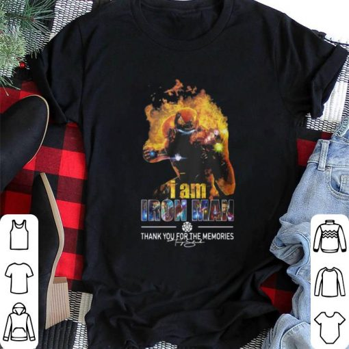 Awesome I Am Iron Man Thank You For The Memories Avengers Endgame shirt 2 1 510x510 - Awesome I Am Iron Man Thank You For The Memories Avengers Endgame shirt