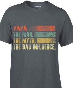 Awesome Vintage Papa the Man the Myth the Bad Influence shirt 1 1 247x296 - Awesome Vintage Papa the Man the Myth the Bad Influence shirt