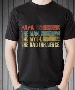 Awesome Vintage Papa the Man the Myth the Bad Influence shirt 2 1 247x296 - Awesome Vintage Papa the Man the Myth the Bad Influence shirt