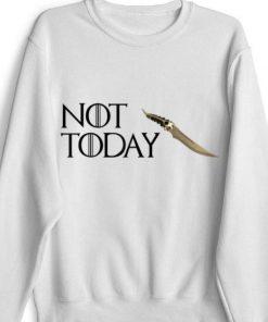 Catspaw Blade Not today GOT Arya Shirt 1 1 247x296 - Catspaw Blade Not today GOT Arya Shirt