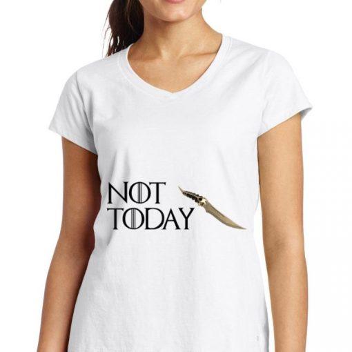 Catspaw Blade Not today GOT Arya Shirt 3 1 510x510 - Catspaw Blade Not today GOT Arya Shirt