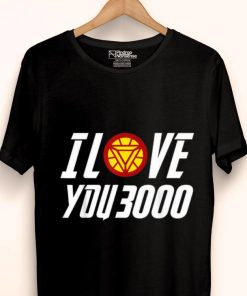 1f4017789 Daddy I Love You 3000 Arc Reactor Iron man shirt - Kutee Boutique
