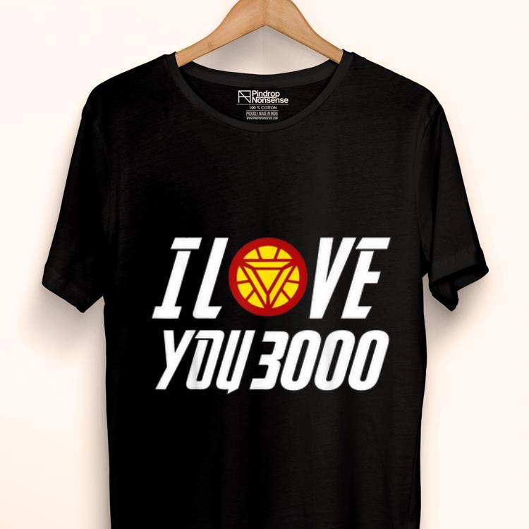 Daddy I Love You 3000 Arc Reactor Iron man shirt