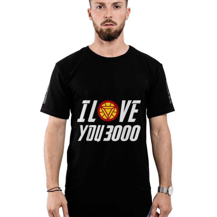 79f96849d Daddy I Love You 3000 Arc Reactor Iron man shirt 2 1 510x510 - Daddy I