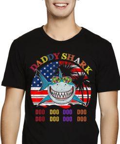 Father s Day Hawaii Daddy Shark America Flag shirt 2 1 247x296 - Father's Day Hawaii Daddy Shark America Flag shirt