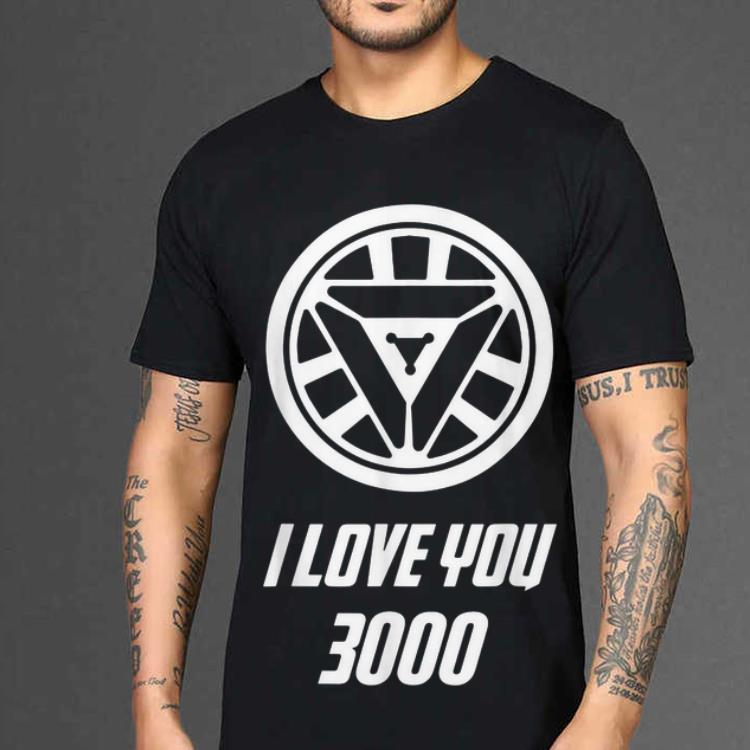 526122d63 Funny Arc Reactor I Love You 3000 Daughter Iron man shirt 2 1 510x510 -  Funny
