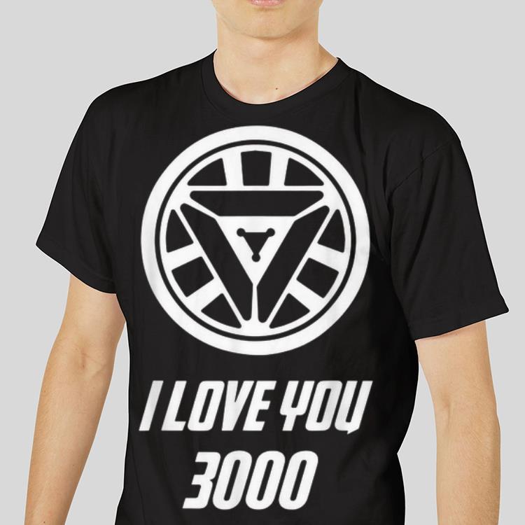 b534bad1a Funny Arc Reactor I Love You 3000 Daughter Iron man shirt 3 1 510x510 -  Funny