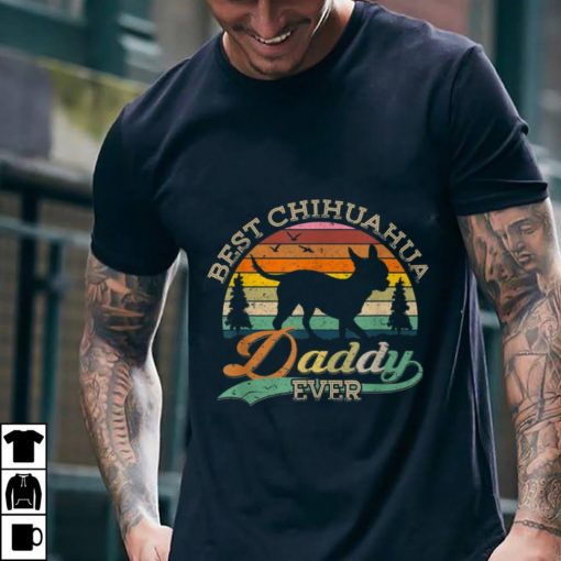 Funny Best Chihuahua Daddy Ever Sunset shirt 2 1 510x510 - Funny Best Chihuahua Daddy Ever Sunset shirt