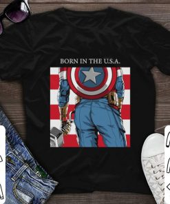 Funny Born In The U S A Captain America s Ass Standard shirt 1 1 247x296 - Funny Born In The U.S.A. Captain America's Ass Standard shirt