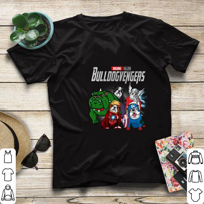 Funny Bulldog Bulldogvenger Marvel Avengers Endgame shirt