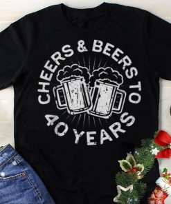Funny Cheers And Beers To 40 Years shirt 1 1 247x296 - Funny Cheers And Beers To 40 Years shirt