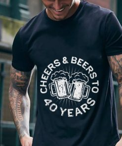 Funny Cheers And Beers To 40 Years shirt 2 1 247x296 - Funny Cheers And Beers To 40 Years shirt