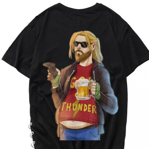 Funny Fa Thor Fat Man Like Beer and Game God Thunder shirt 1 1 510x510 - Funny Fa-Thor Fat Man Like Beer and Game God Thunder shirt