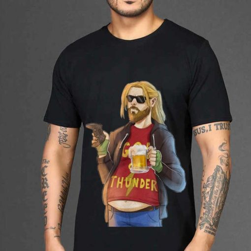Funny Fa Thor Fat Man Like Beer and Game God Thunder shirt 2 1 510x510 - Funny Fa-Thor Fat Man Like Beer and Game God Thunder shirt