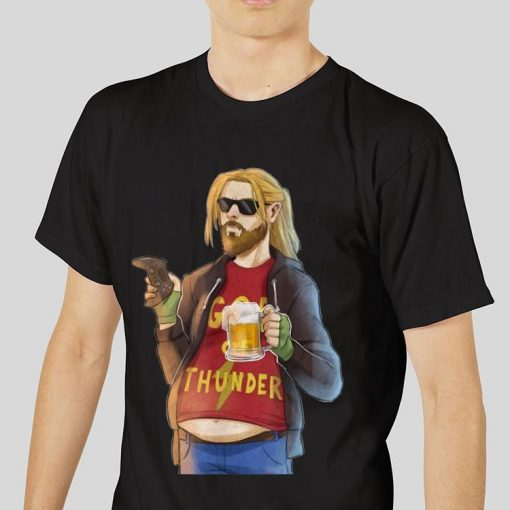 Funny Fa Thor Fat Man Like Beer and Game God Thunder shirt 3 1 510x510 - Funny Fa-Thor Fat Man Like Beer and Game God Thunder shirt
