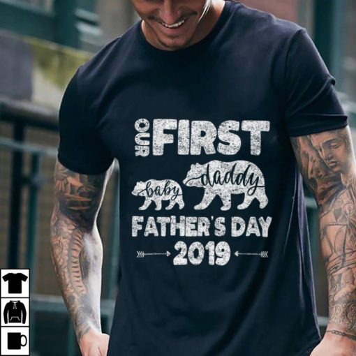 Funny First Fathers day Dad And baby bear 2019 shirt 2 1 510x510 - Funny First Fathers day Dad And baby bear 2019 shirt