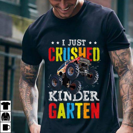 Funny I Just Crushed Kinder garten Monster Truck shirt 2 1 510x510 - Funny I Just Crushed Kinder garten Monster Truck shirt